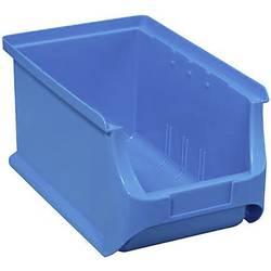 Plastový box na drobný materiál, stohovatelný Allit (š x v x h) 150 x 125 x 235 mm, modrá