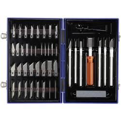 Sada nožů, 50dílná Basetech 1521271, stříbrná