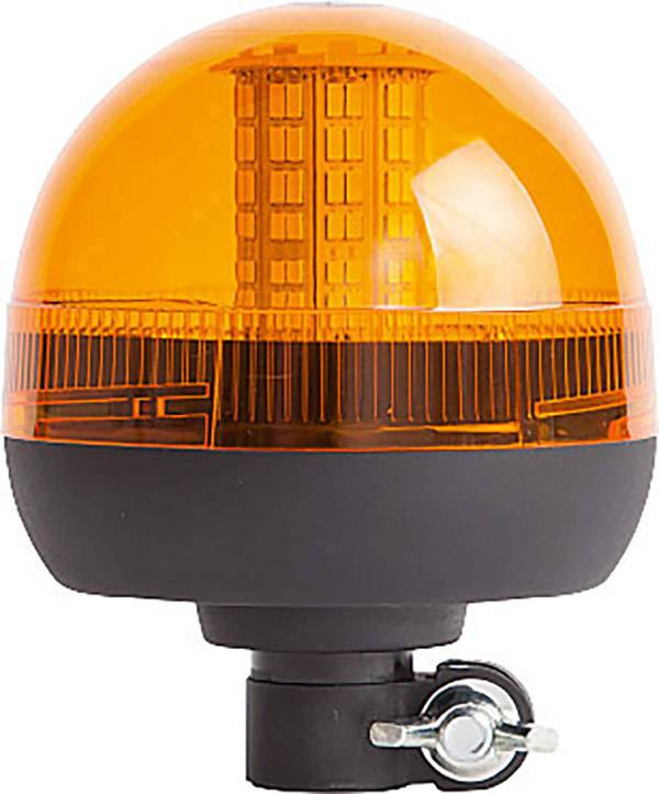 Všesměrové světlo LED ComPro COBL130.200.K, signální žlutá, výstražný maják, zábleskové světlo, 12 V/DC, 24 V/DC