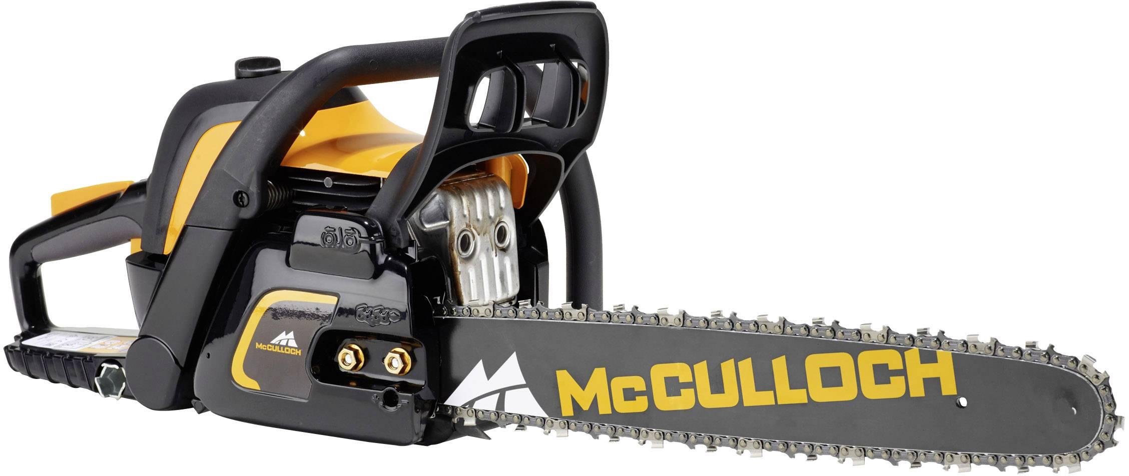 Benzínová řetězová pila McCulloch CS50S, 2,1 kW, délka čepele 450 mm