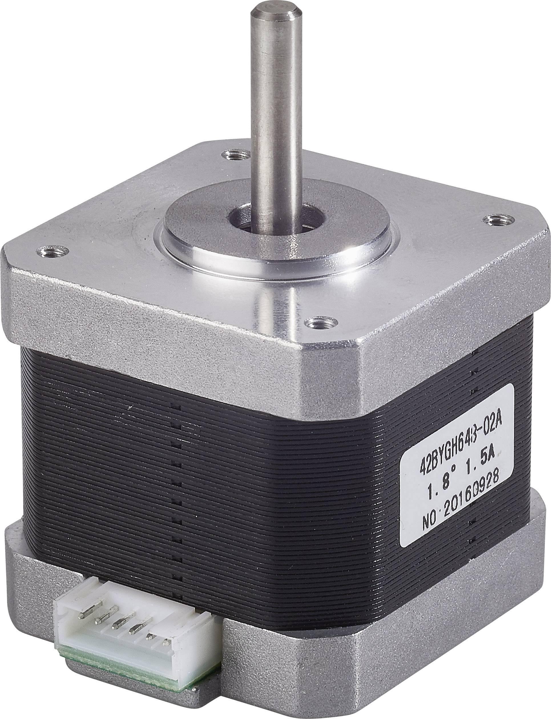 Krokový motor pro osy X a Y Vhodné pro 3D tiskárnu renkforce RF100, renkforce RF100 v2, zdokonalená verze, renkforce RF100 XL