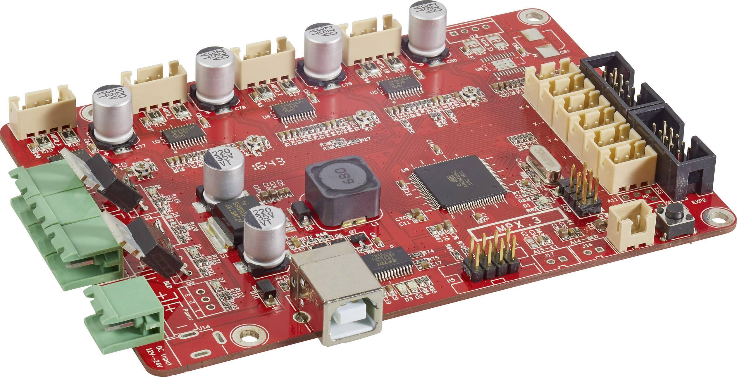 Základní deska vhodná pro 3D tiskárnu renkforce RF100, renkforce RF100 v2, zdokonalená verze