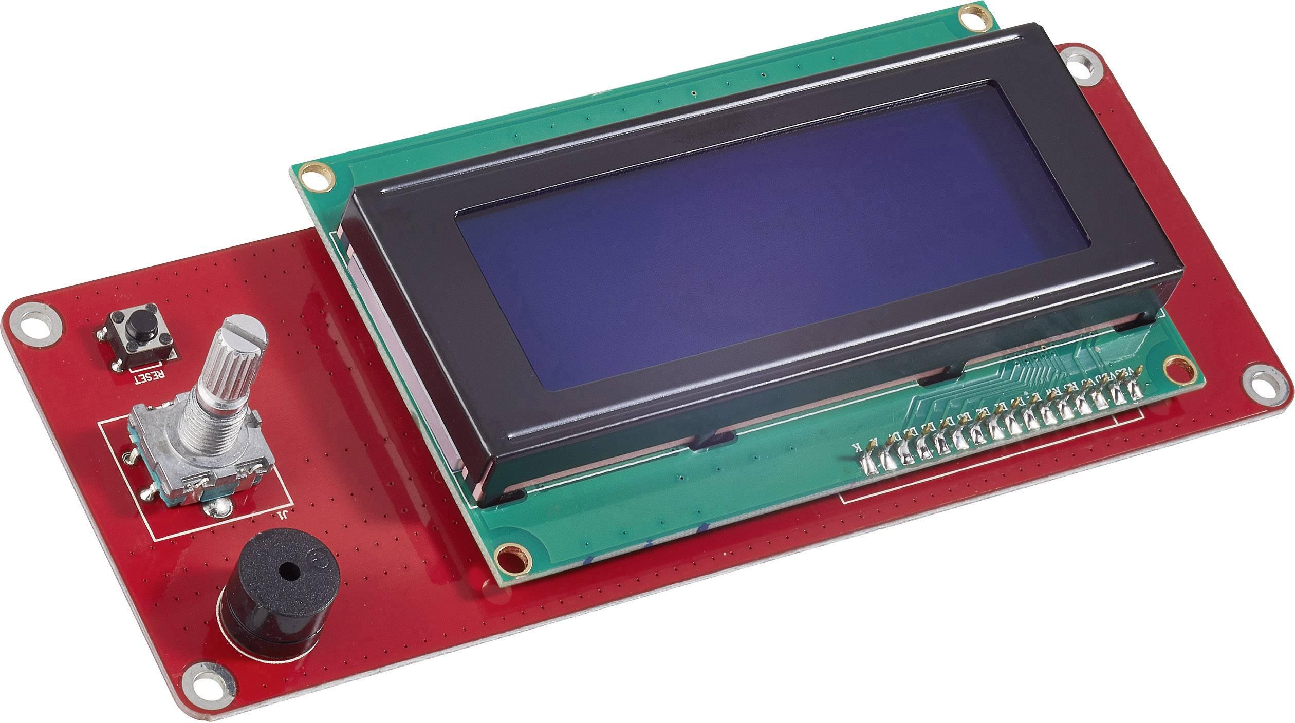 Displej PCB, vhodný pro 3D tiskárnu renkforce RF100, renkforce RF100 v2, zdokonalená verze