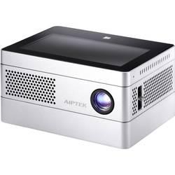 DLP projektor Aiptek iBeamBLOCK Světelnost (ANSI Lumen): 400 lm 1280 x 720 WXGA 500 : 1 šedá