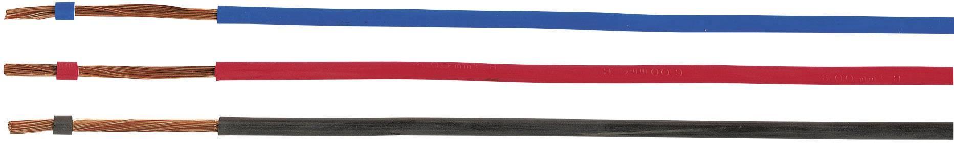 Opletenie / lanko Helukabel 51790 H07Z-K, 1 x 4 mm², vonkajší Ø 4.90 mm, metrový tovar, červená