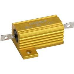Drátový rezistor Widap 160000, hodnota odporu 0.10 Ω, v pouzdře, 25 W, 1 ks