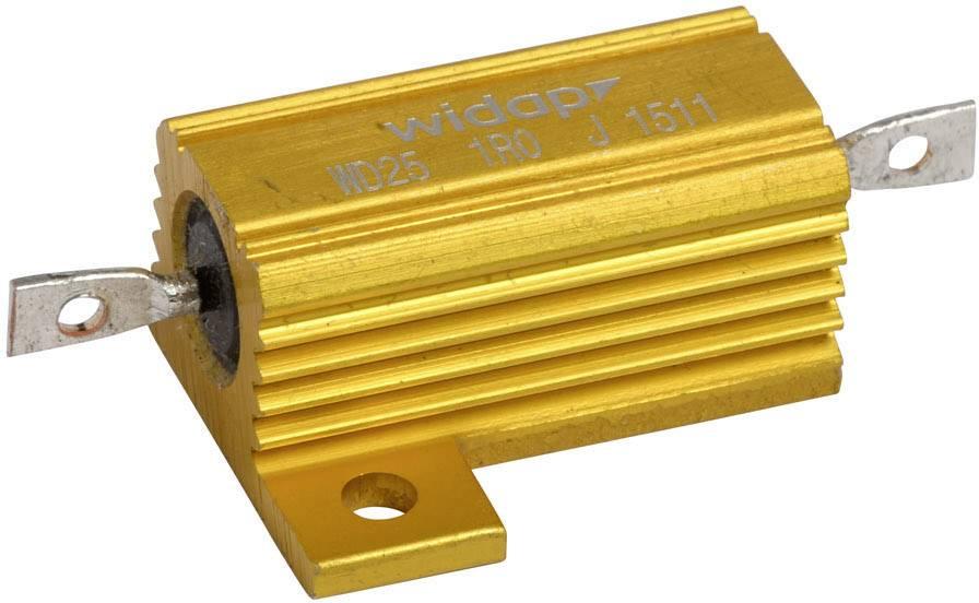 Drátový rezistor Widap 160037, hodnota odporu 390 Ohm, v pouzdře, 25 W, 1 ks