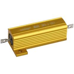 Drátový rezistor Widap 160060, hodnota odporu 0.10 Ohm, v pouzdře, 50 W, 1 ks