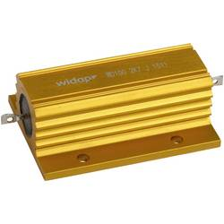 Drátový rezistor Widap 160137, hodnota odporu 680 Ω, v pouzdře, 100 W, 1 ks