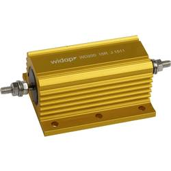 Drátový rezistor Widap 160142, hodnota odporu 0.10 Ω, v pouzdře, 200 W, 1 ks