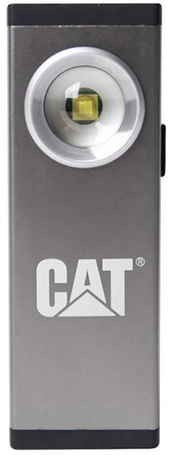 Ručné akumulátorové svietidlo (baterka) CAT CT5115, strieborná