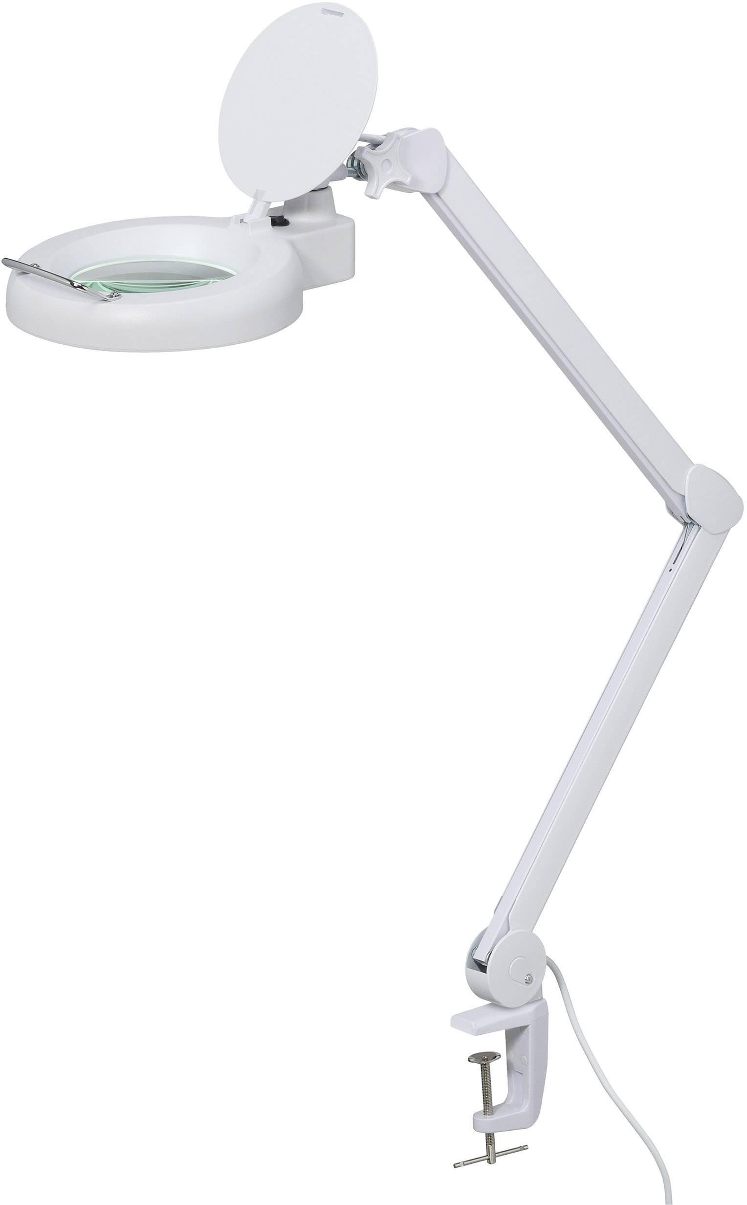 Stolná lupa s LED osvetlením TOOLCRAFT 1526044, prac.rádius 127 mm