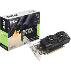 Grafická karta MSI Gaming Nvidia GeForce GTX1050 Ti 4GT LP, 4 GB