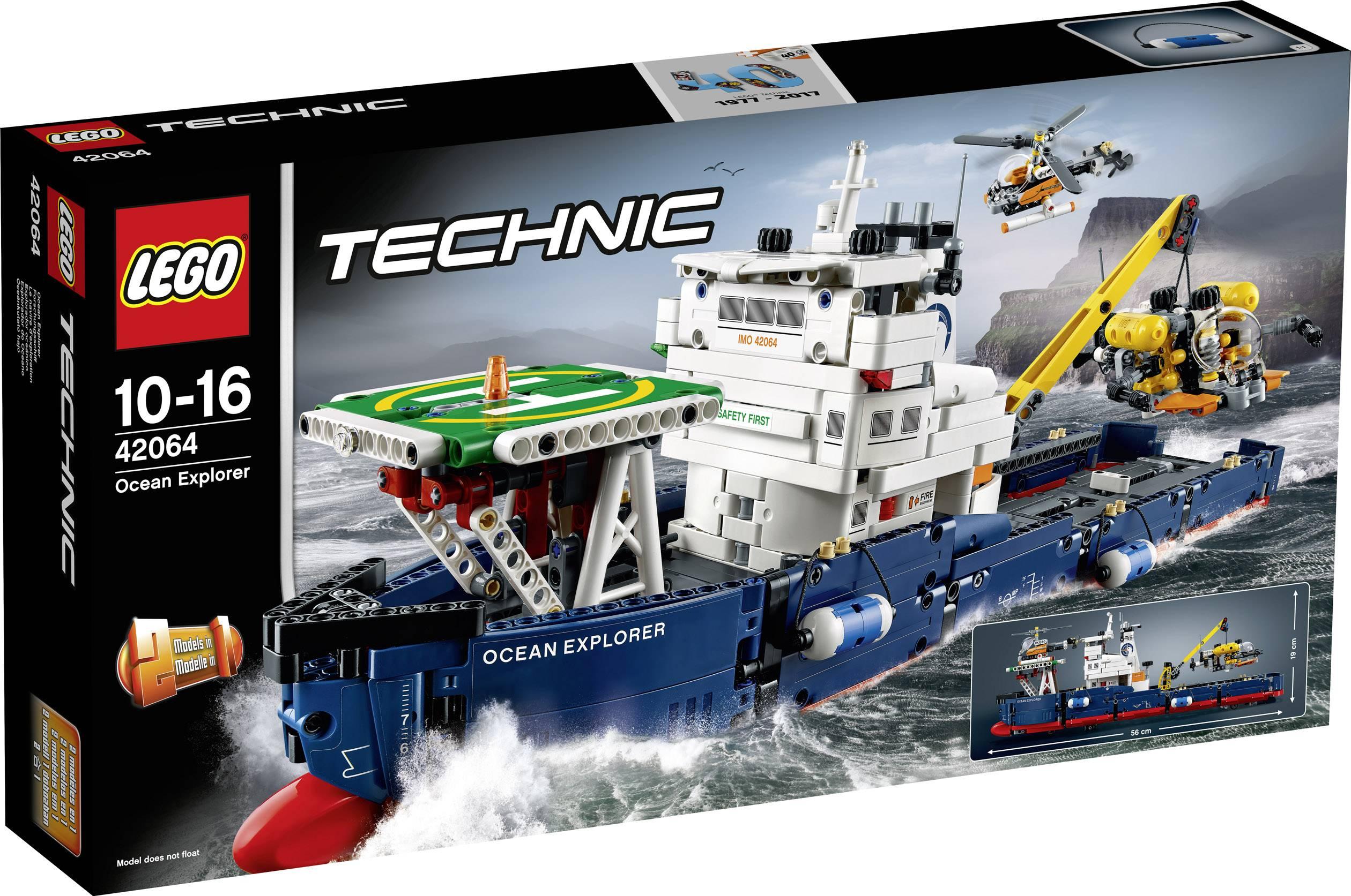 Výskumná oceánská loď LEGO® TECHNIC 42064