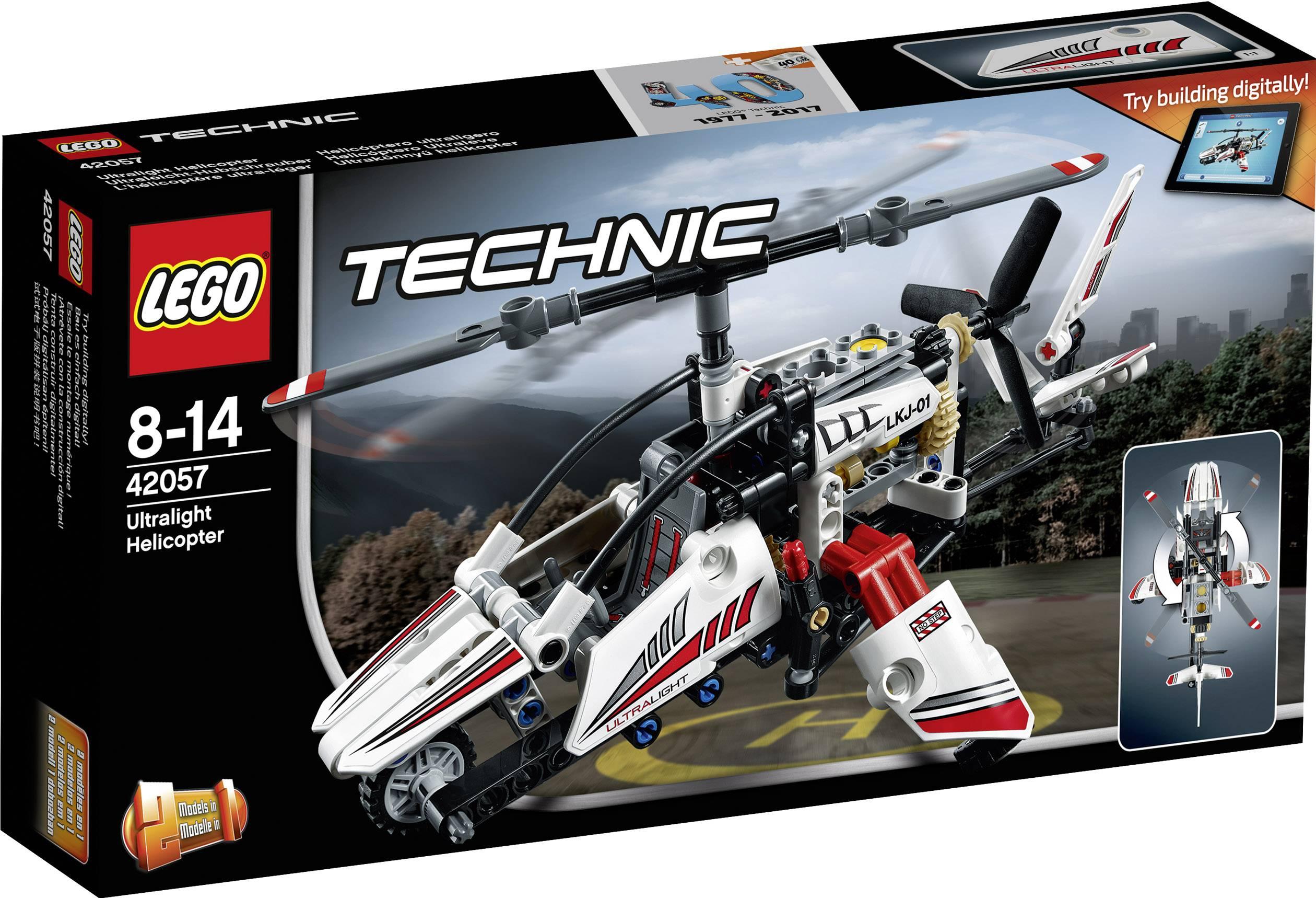 Ultraľahký vrtuľník LEGO® TECHNIC 42057