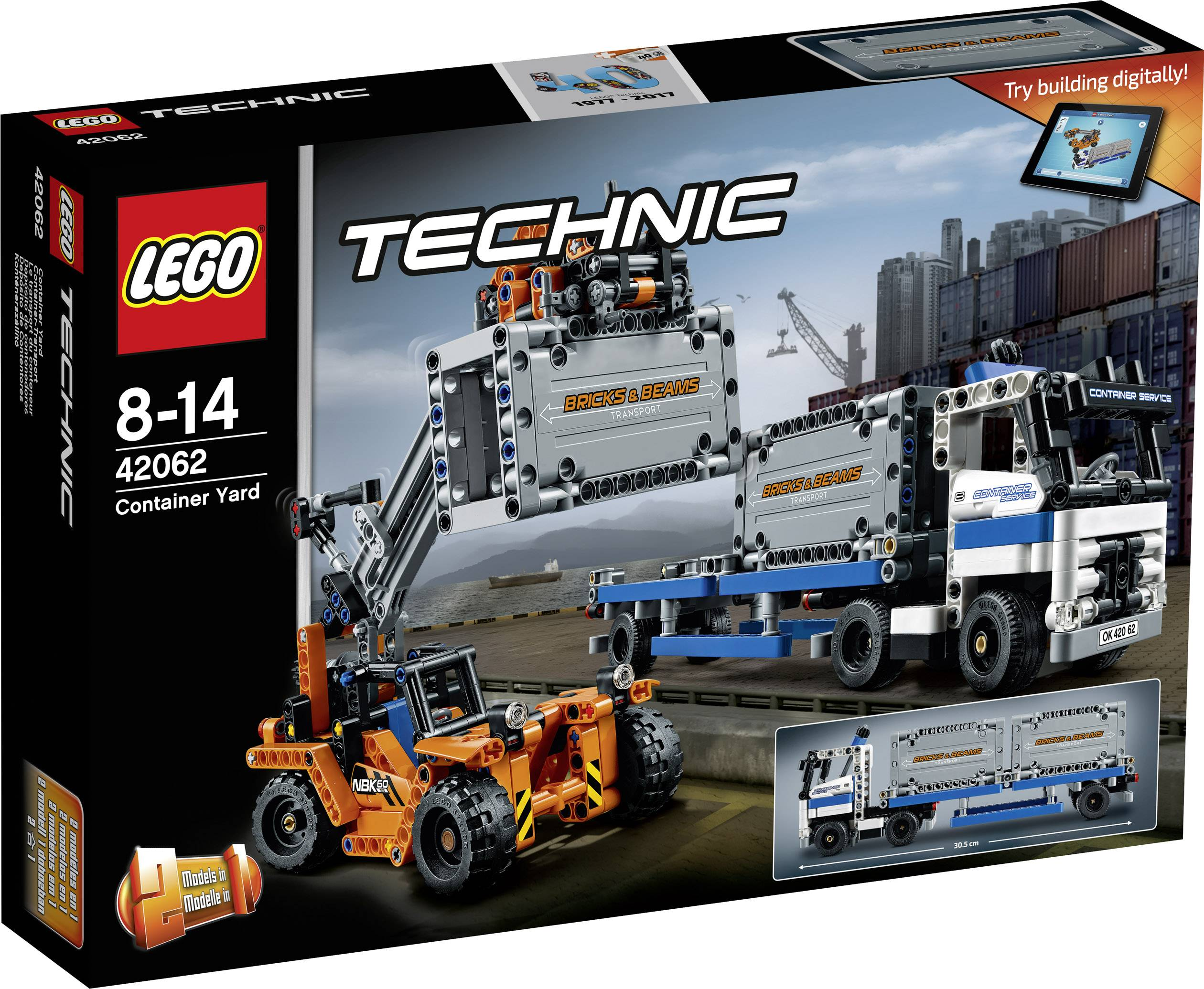 Přeprava kontejnerů LEGO® TECHNIC 42062