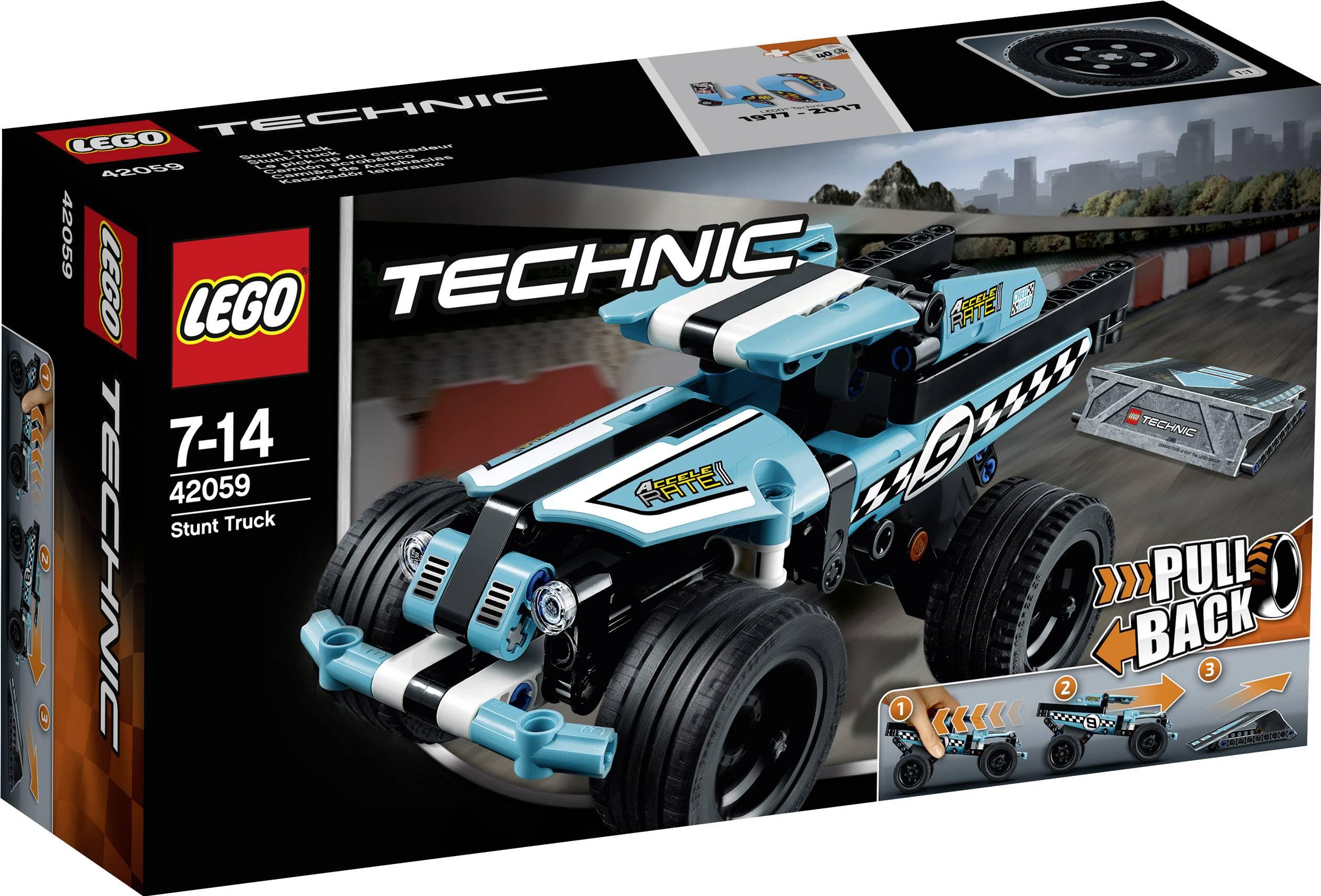 Naklaďák pre kaskadérov LEGO® TECHNIC 42059