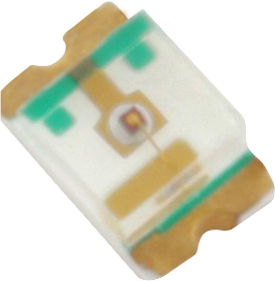 SMD LED HuiYuan 0805W2C-KHC-B, 3.2 V, 30 mA, 120 °, 460 mcd, bílá
