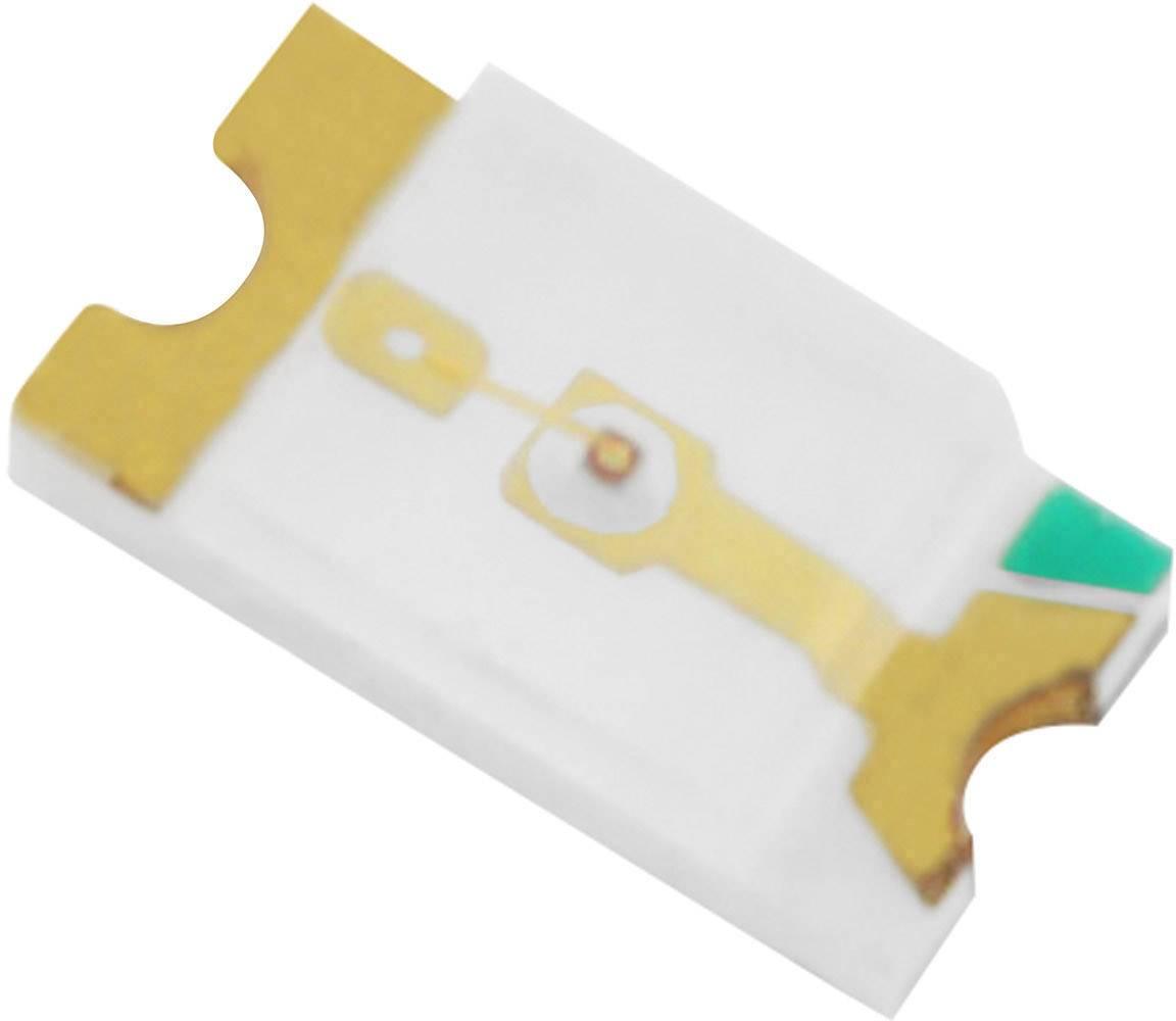 SMD LED TRU COMPONENTS 1573657, 2.15 V, 20 mA, 120 °, 1573657, 130 mcd, žlutá