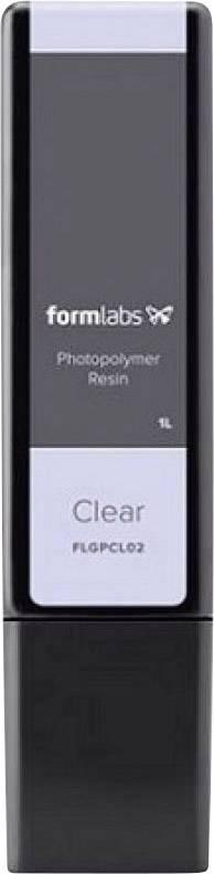 Fotopolymerní pryskyřice Formlabs Clear Resin Cartridge (Form 2), 1 l zásobník, transparentní