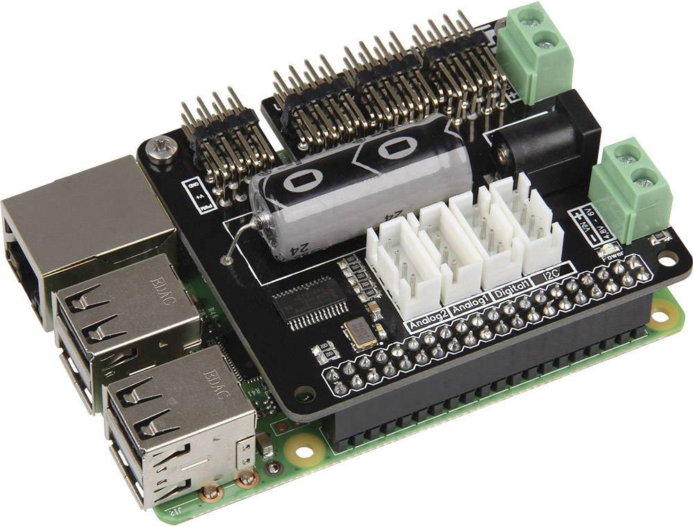 Rozširujúca doska pre Pi® Betriebssystem Joy-it Joy-IT MotoPI-R