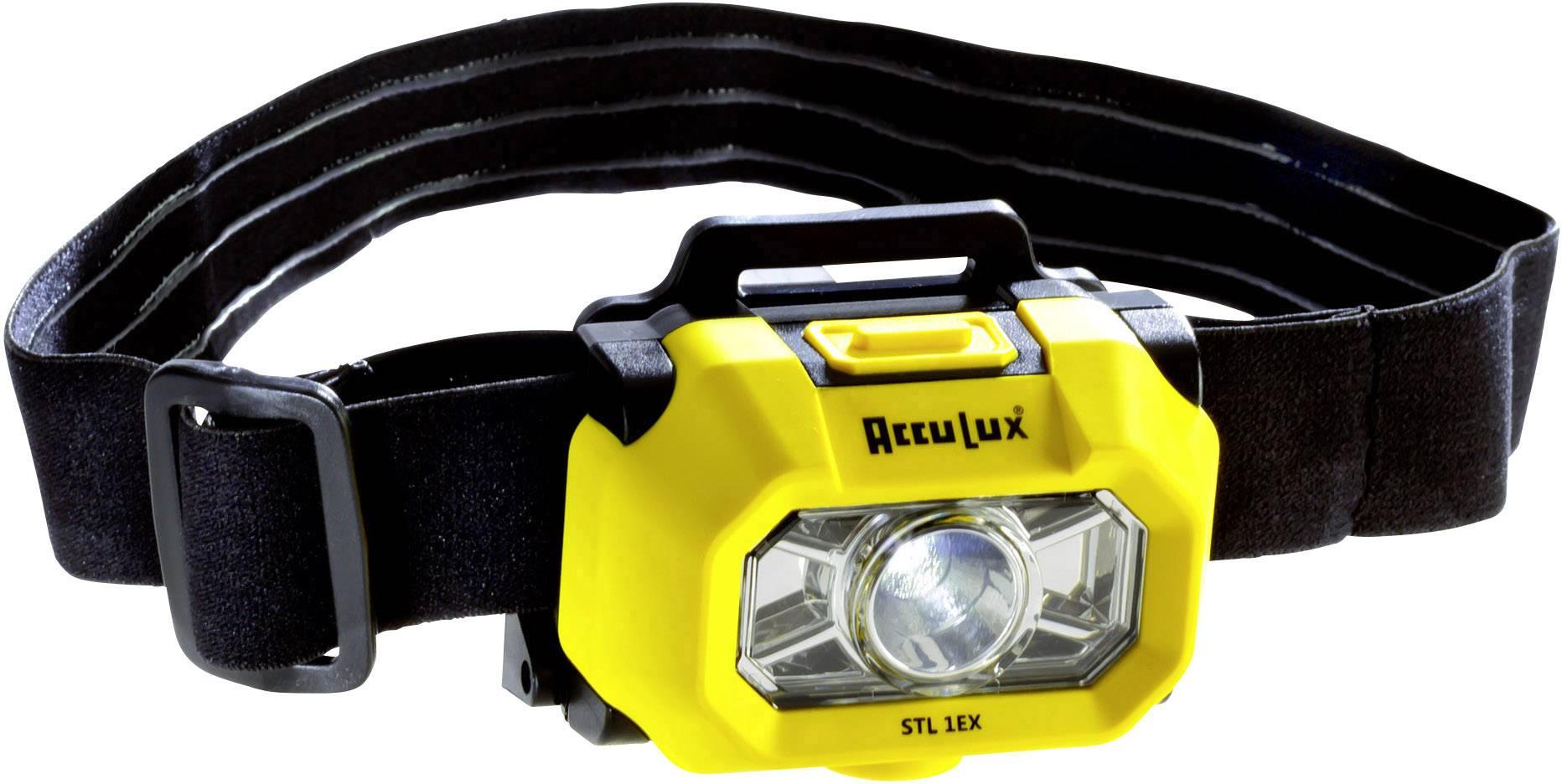 AccuLux STL 1 EX, IP67, žltočierna