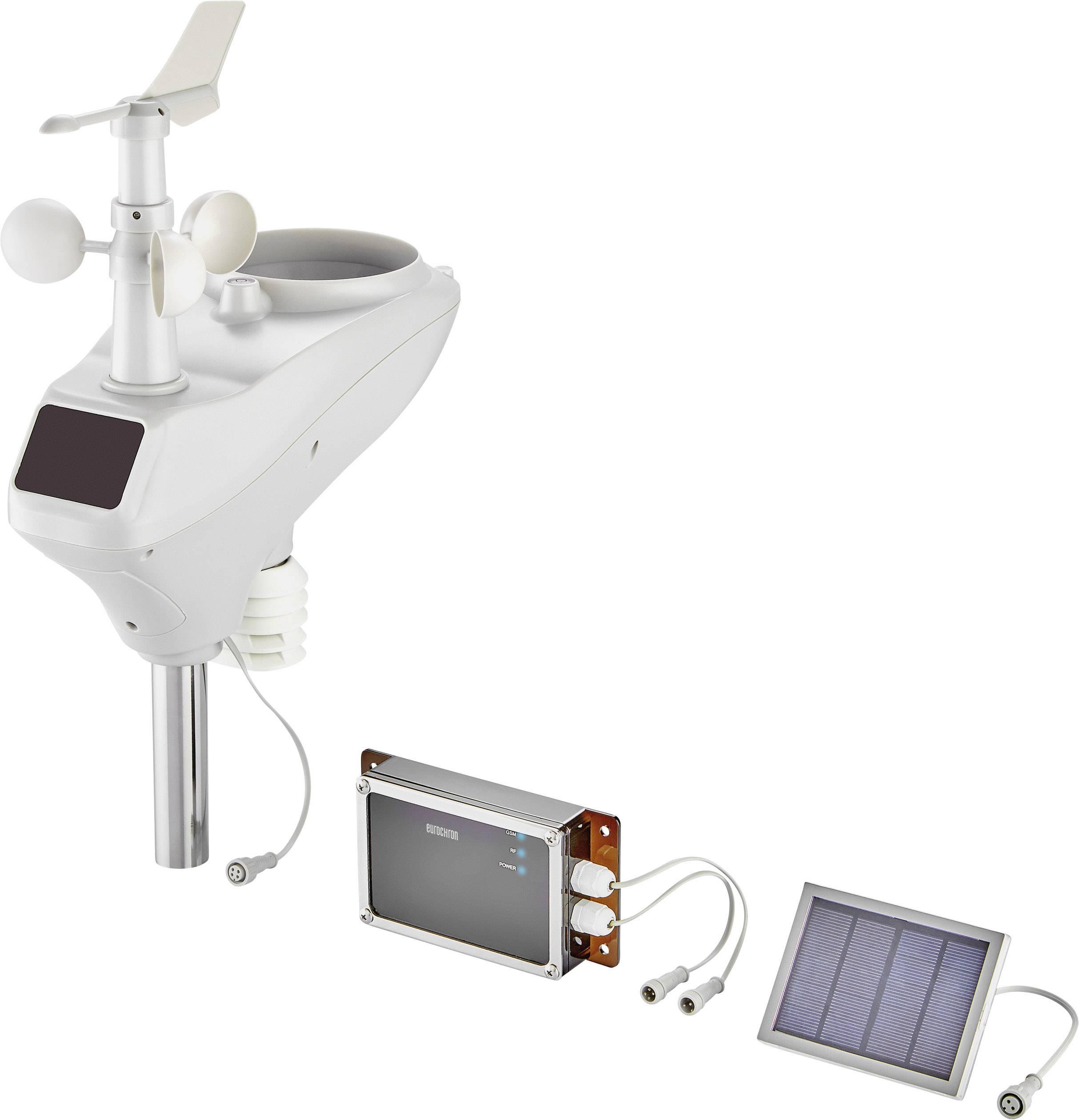 GSM digitálna bezdrôtová meteostanica Eurochron EGWS1000