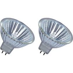 ECO halogénová žiarovka OSRAM 12 V, GU5.3, 35 W, en.trieda: B (A ++ - E), teplá biela, 2 ks