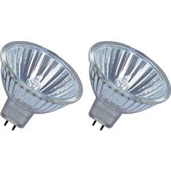 ECO halogénová žiarovka OSRAM 12 V, GU5.3, 25 W, en.trieda: B (A ++ - E), teplá biela, 2 ks
