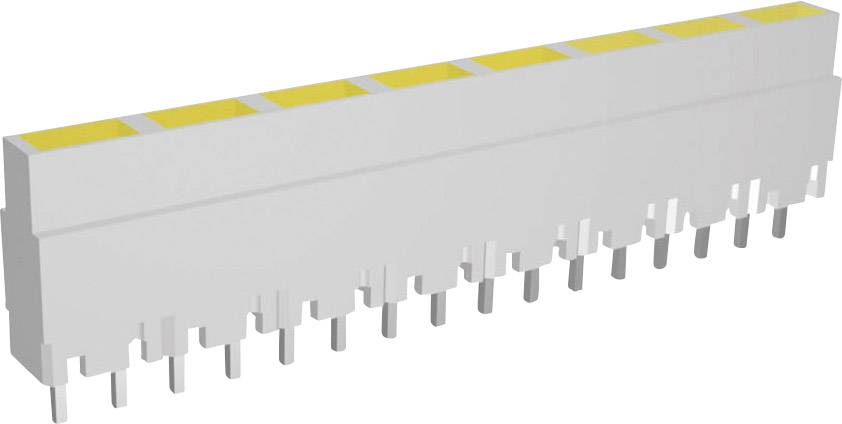 LEDséria Signal Construct ZALW 081 (d x š x v) 40.8 x 3.7 x 9 mm, žltá