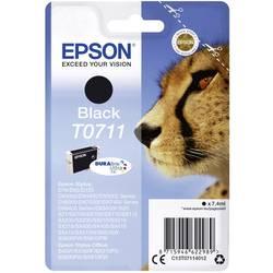 Epson Ink T0711 originál černá C13T07114012
