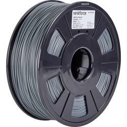 Vlákno pro 3D tiskárny Renkforce 01.04.12.1115, ABS plast, 1.75 mm, 1 kg, šedá
