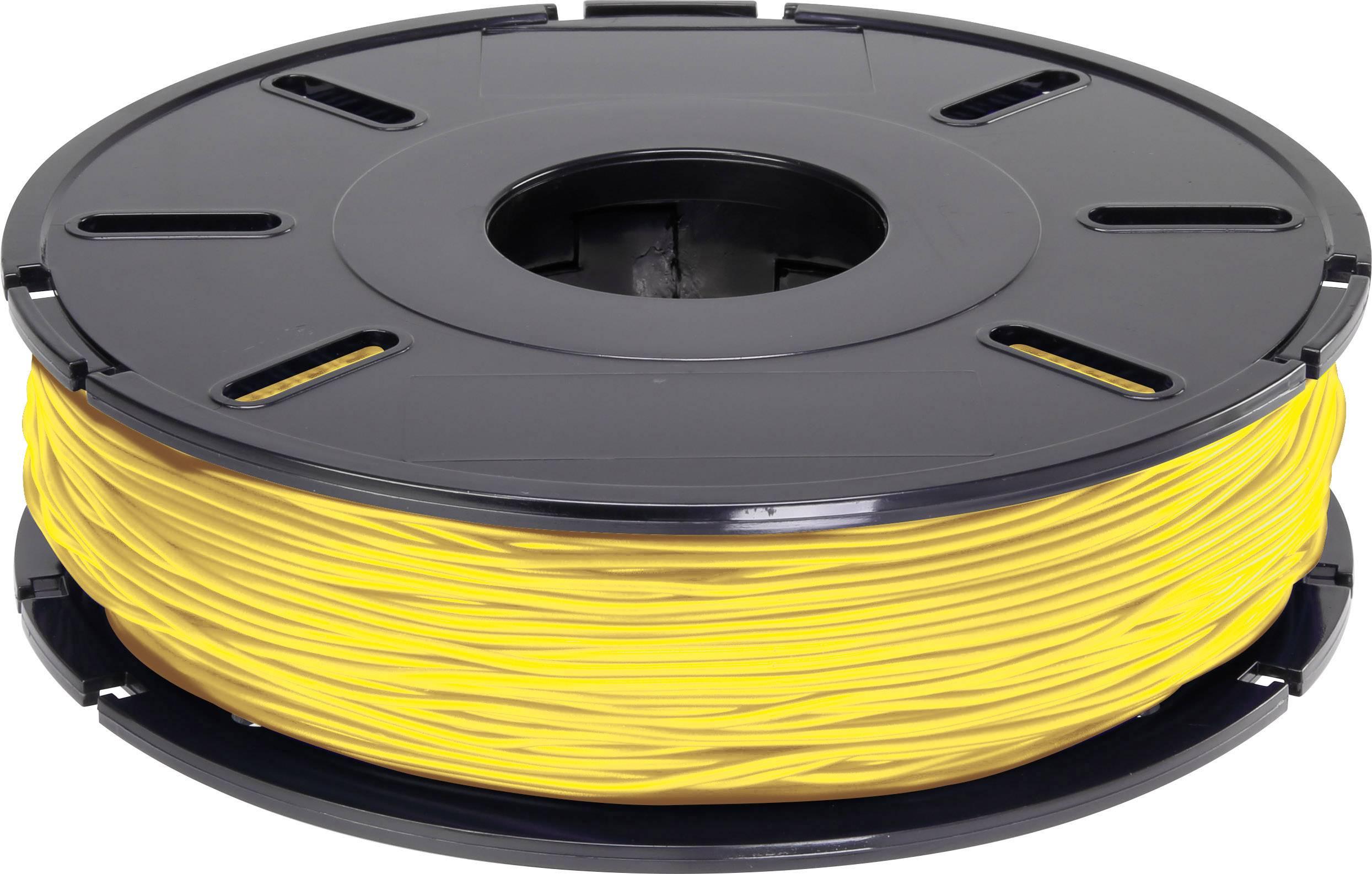 Vlákno pre 3Dtlačiarne, Renkforce 01.04.01.5230, PLA plast , 2.85 mm, 500 g, oranžová, žltá