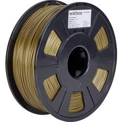 Vlákno pro 3D tiskárny Renkforce 01.04.01.1116, PLA plast, 1.75 mm, 1 kg, zlatá