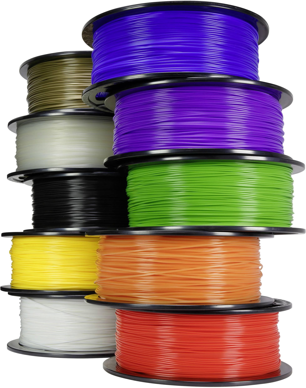 Vlákna, struny a filamenty pro 3D tiskárny