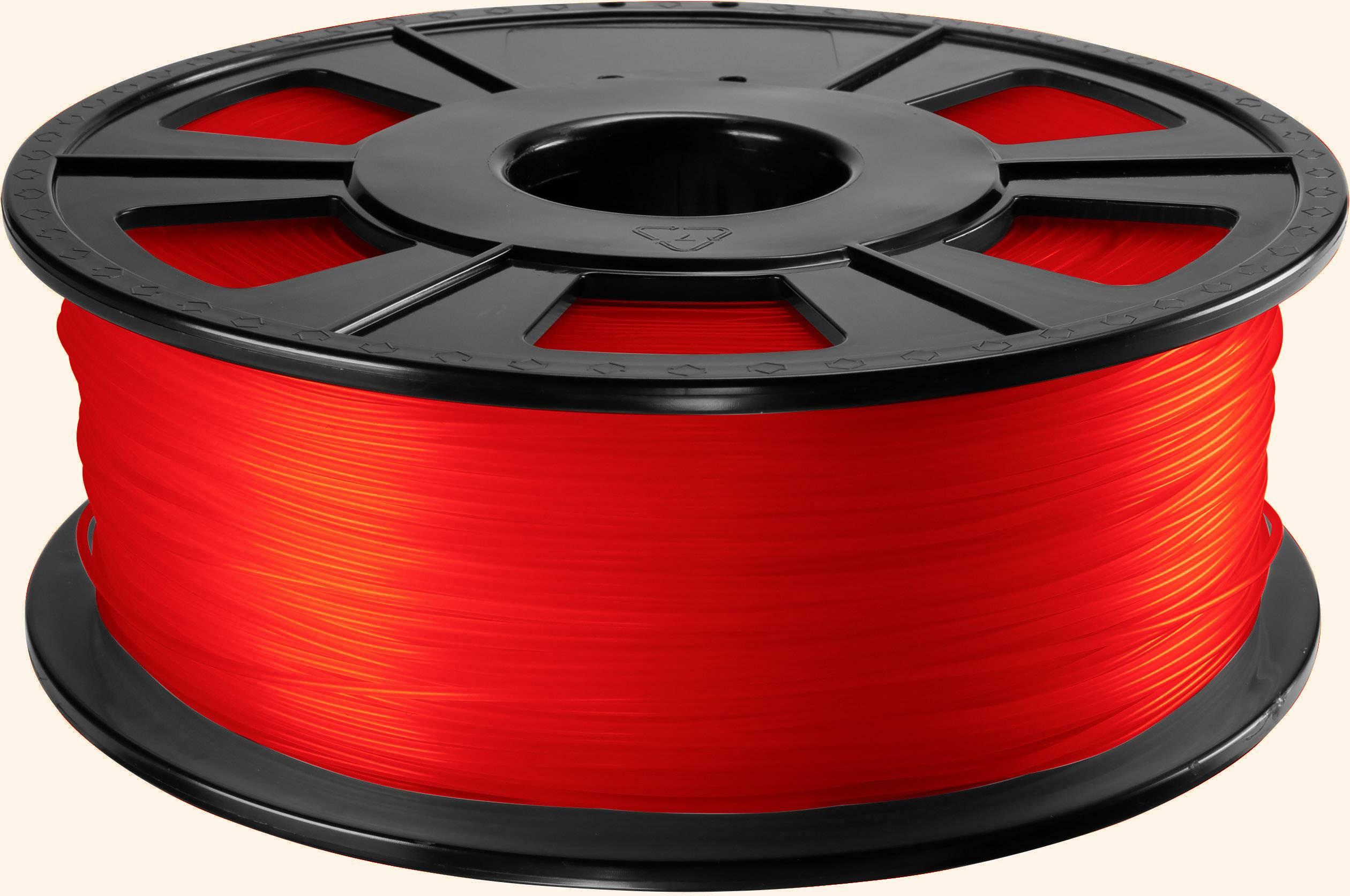 Vlákno pre 3Dtlačiarne, Renkforce 01.04.01.1104, PLA plast , 1.75 mm, 1 kg, červená