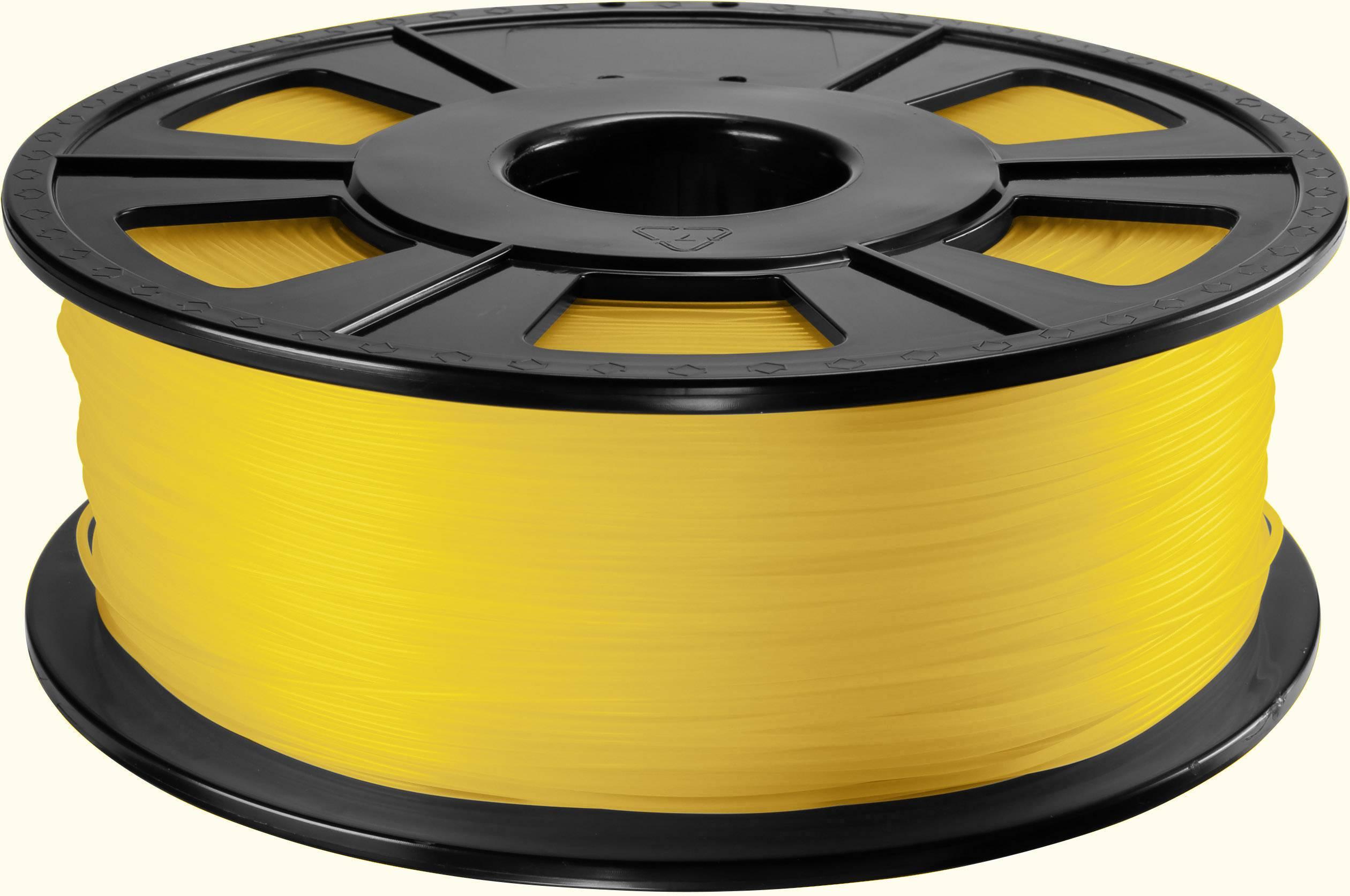 Vlákno pro 3D tiskárny Renkforce 01.04.12.1212, ABS plast, 2.85 mm, 1 kg, žlutá