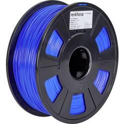 Vlákno pre 3D tlačiarne, Renkforce 01.04.01.1108, PLA plast , 1.75 mm, 1 kg, modrá