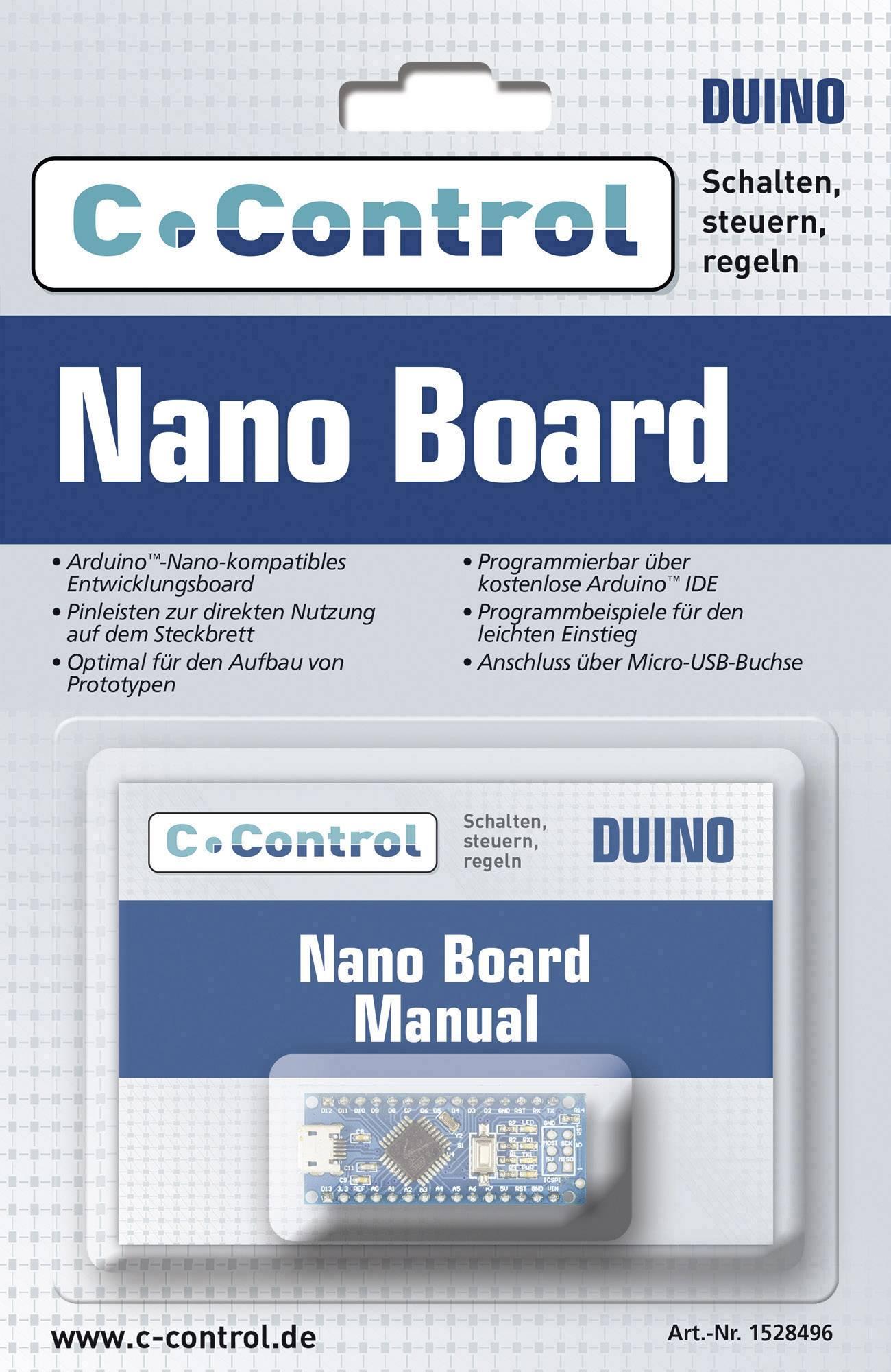 Vývojová doska C-Control Nano Board 15004