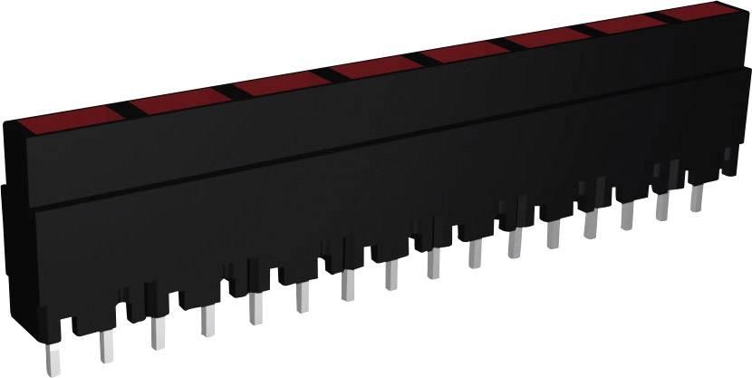 LEDséria Signal Construct ZALS 080 (d x š x v) 40.8 x 3.7 x 9 mm, červená