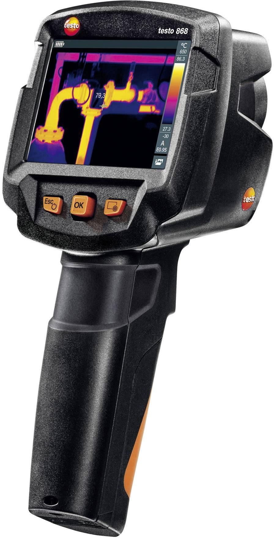 Termálna kamera s bezdrôtovým Wi-Fi modulom testo 868 0560 8681, 160 x 120 pix