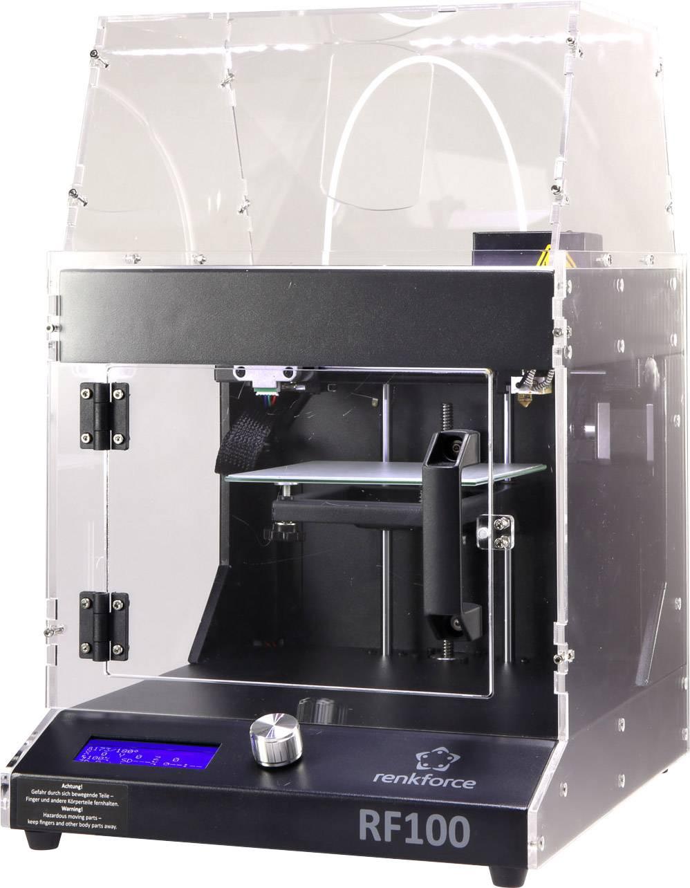 Recenze: 3D tiskárna Renkforce RF100