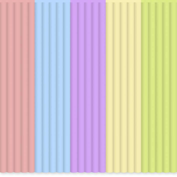 Sada vláken pro 3D tiskové pera 3Doodler PL-MIX14, PLA plast, 55 g, zelená, světle modrá, růžová, fialová, žlutá