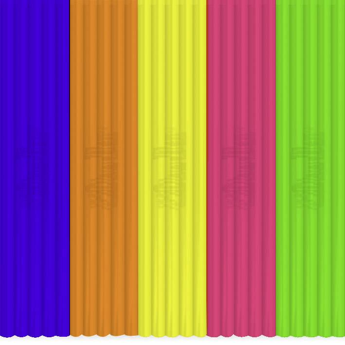 Sada vláken pro 3D tiskové pera 3Doodler FLX-MIX3, pružné vlákno , 55 g, bílá, modrá, červená, oranžová