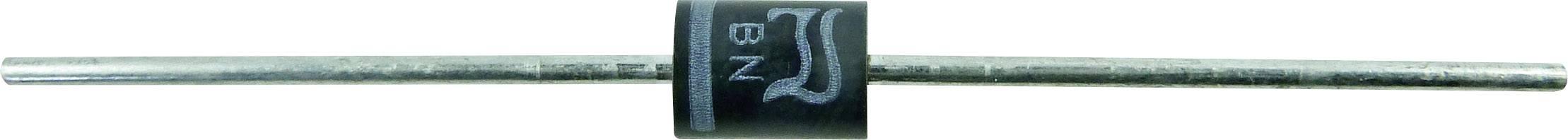 Kremíková usmerňovacia dióda Diotec BY550-400 BY550-400 DO-201AD, 5 A, 400 V