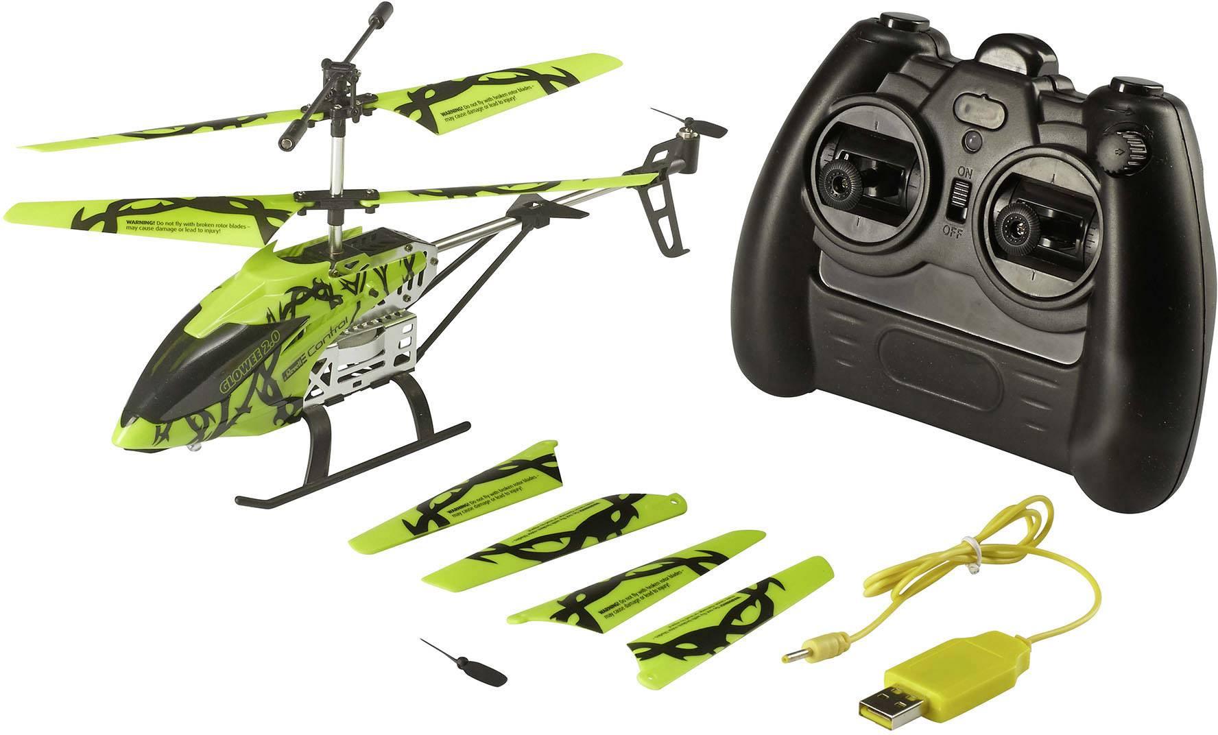 RC model vrtulníku pro začátečníky Revell Control Glowee 2.0, RtF
