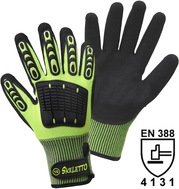 Pracovní rukavice L+D Griffy SKELETTO 1200-8, velikost rukavic: 9
