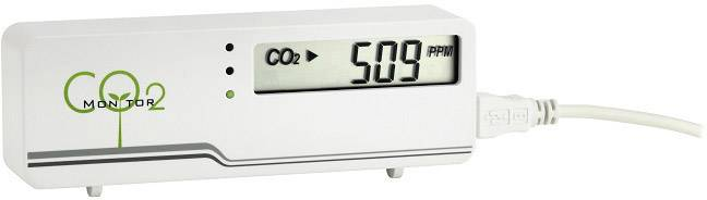 Měřič oxidu uhličitého (CO2) TFA AIRCO2NTROL MINI, 0 - 3000 ppm