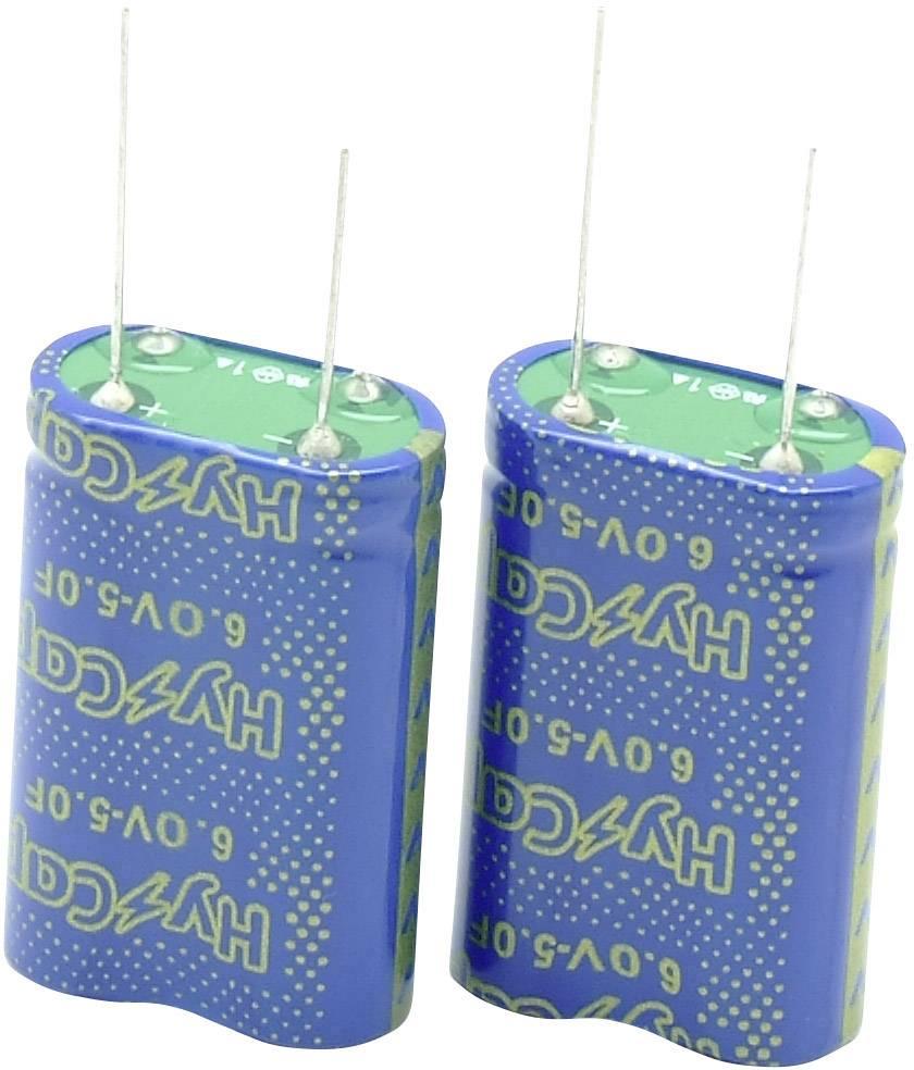 Dvouvrstvý kondenzátor VINATech VEC6R0504QGI, 0.5 F, 6 V, (d x š x v) 17 x 8.5 x 15.5 mm, 1 ks