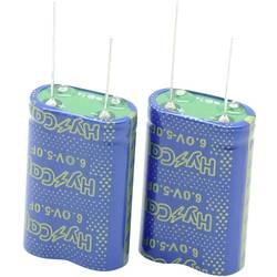 Dvouvrstvý kondenzátor VINATech VEC6R0155QGI, 1.5 F, 6 V, (d x š x v) 17 x 8.5 x 22 mm, 1 ks